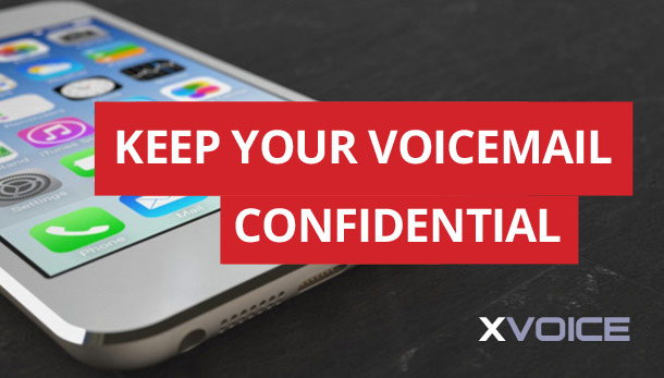 XVOICE Secure Voicemail for Executives
