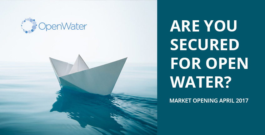 Are you secured for open water?