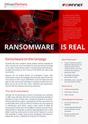 Ransomware is real and on the rampage. Find out how to make sure you're not held to ransom. Contact Infosec Partners today.