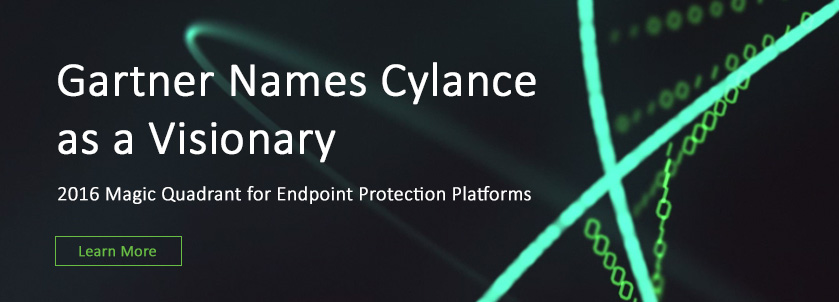 Cylance Protect. Artificial Intelligence. Real Threat Prevention.