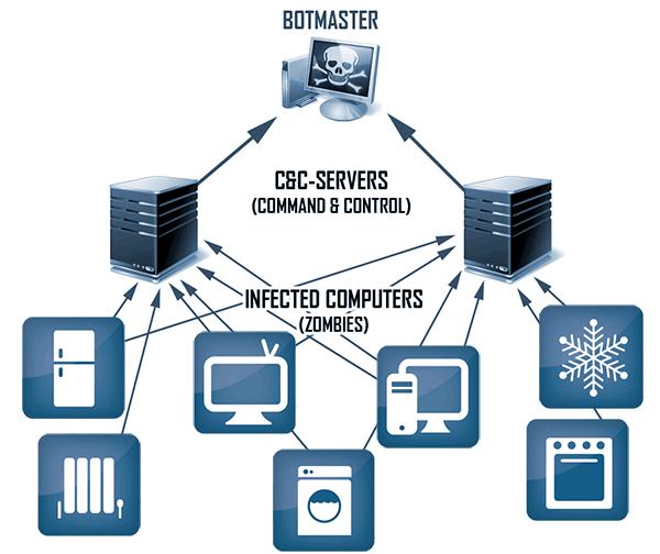 Botnet IOT
