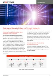 PDF: Building Security Fabric Network