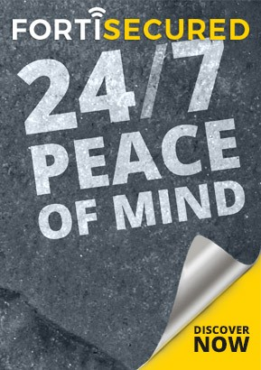 FortiSecured gives you 24/7 Cybersecurity peace of mind.