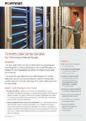 PDF : DataCentre Security Solution Brief