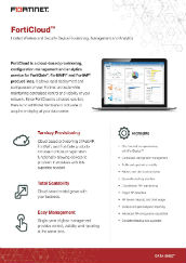 FortiCloud Information PDF