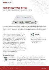 PDF: FortiBridge 3000 Series