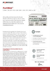 PDF: FortiWeb Web Application Firewall