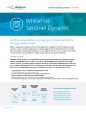 WhiteHat Sentinel Dynamic