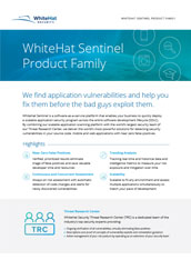 WhiteHat Sentinel Product Family