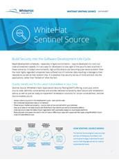 WhiteHat Sentinel Source