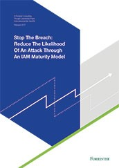 Stop the Breach - Identity & Access Management (IAM) Maturity Model
