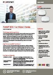 PDF: FortiAP 802.11ac Wave 2 Series