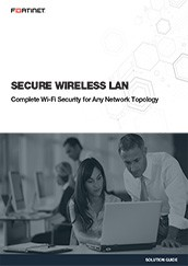 Secure Wireless LAN Fortinet