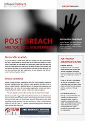 Post Breach Assurance - ARE YOU STILL VULNERABLE?