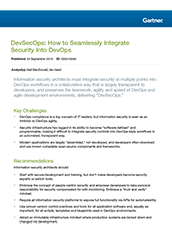 DevSecOps: How to Seamlessly Integrate Security Into DevOps