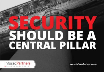 Security should be a central pillar