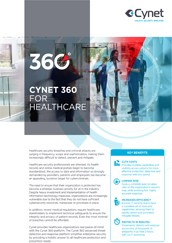 Cynet 360 for healthcare