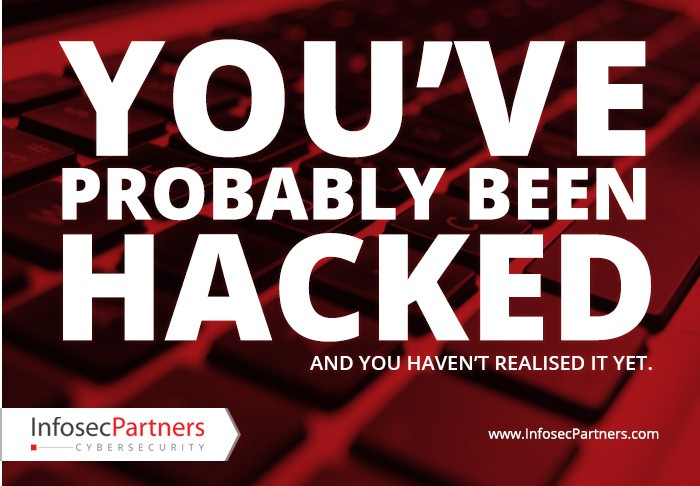 You've probably been hacked and haven't yet realised