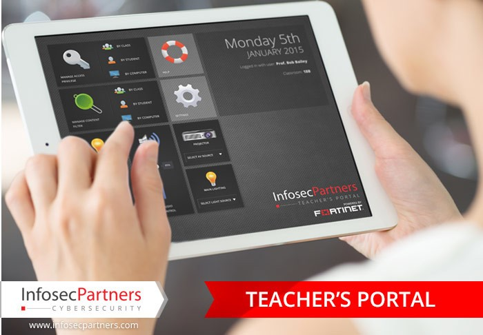 Enabling Education - A Teacher's portal powered by Fortinet