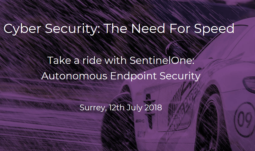 Sentnel One Cyber Security: The Need for Speed