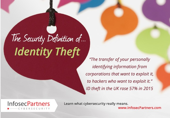A security definition: Identity Theft