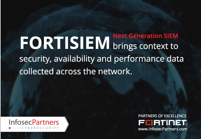 FortiSIEM next generation SIEM