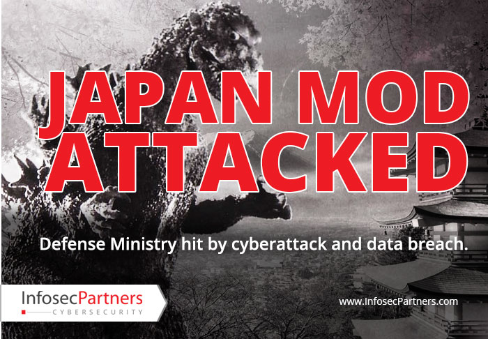 Japanese Ministry of Defence hit by cyber attack and data breach