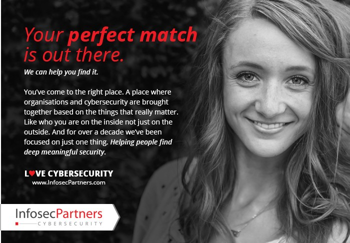 Your perfect match is out there. Cyber Security