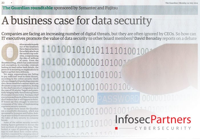 A business case for data security