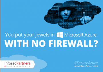 You Put Your Jewels In Azure With No Firewall?