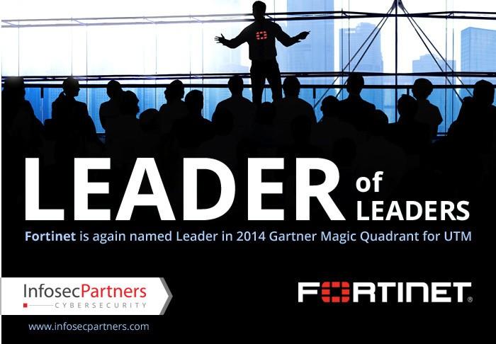 leader of leaders 2014 Gartner Magic Quadrant for UTM