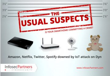 Amazon, Netflix, Twitter and Spotify downed by IOT attack