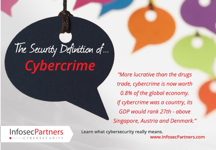 A security definition: Cybercrime
