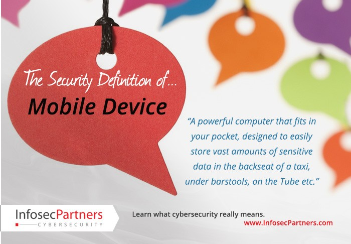 A security definition: Mobile Device