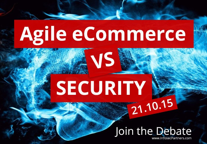 Agile eCommerce vs Security. Join us for drinks and debate.