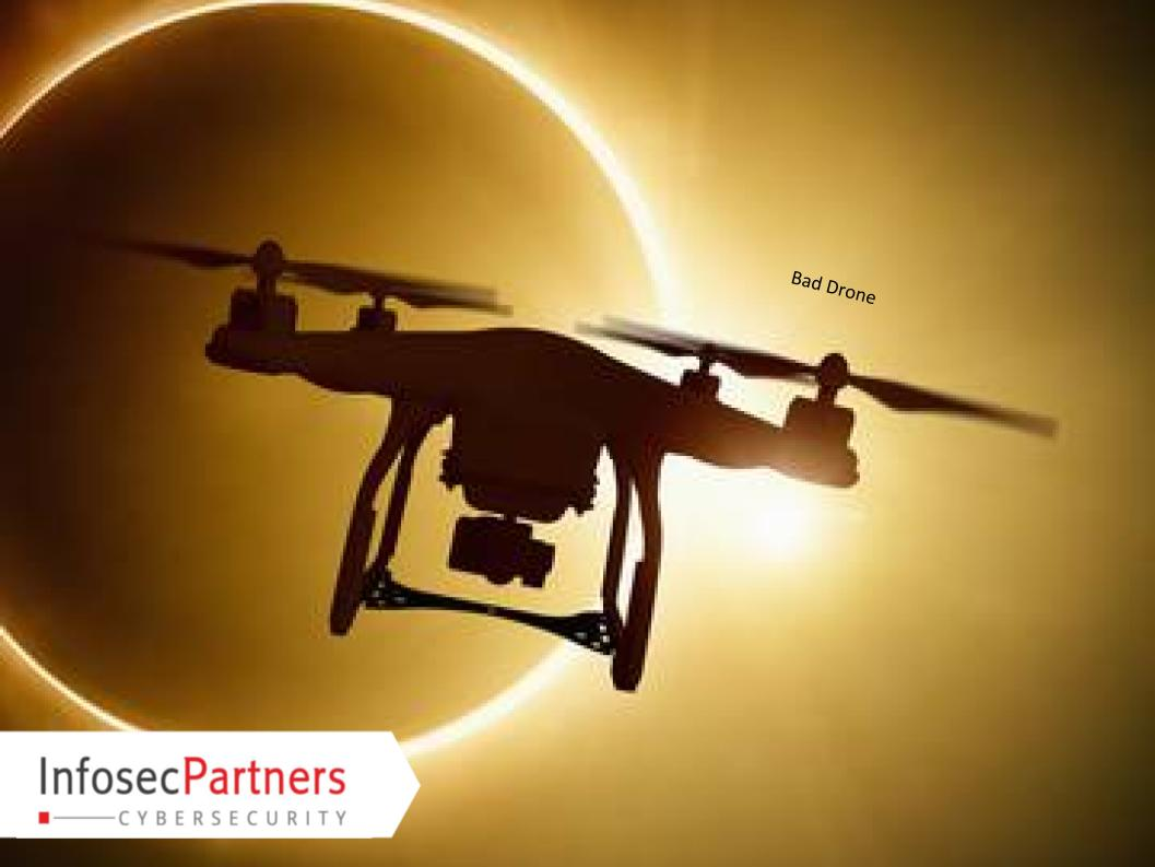 Cyber Security Threats Of Drones Identified