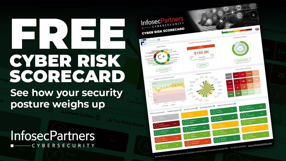 Free Cyber Risk Scorecard