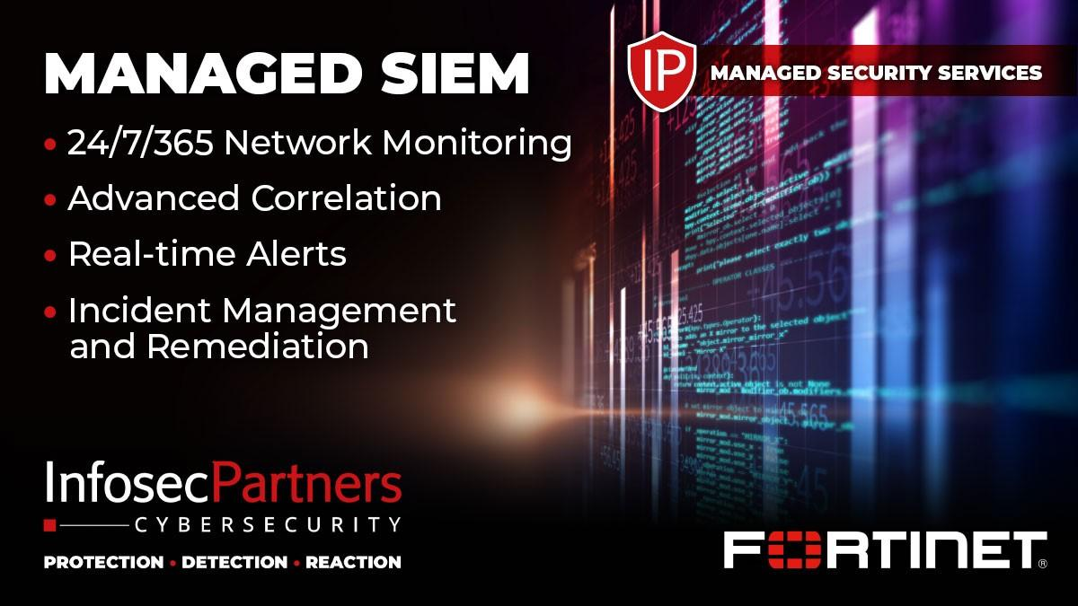 Managed SIEM - FortiSIEM Managed Security Service