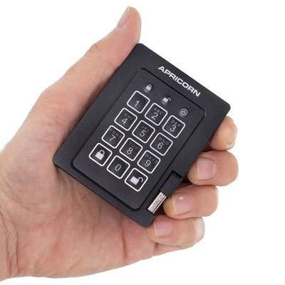 Apricorn Secure Encrypted Portable Drives