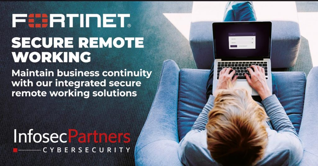 fortinet remote working solutions covid-19