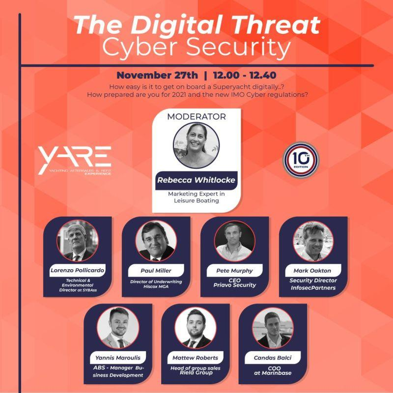 YARE Networking - Superyacht Cyber Security Discussion Panel - Mark Oakton