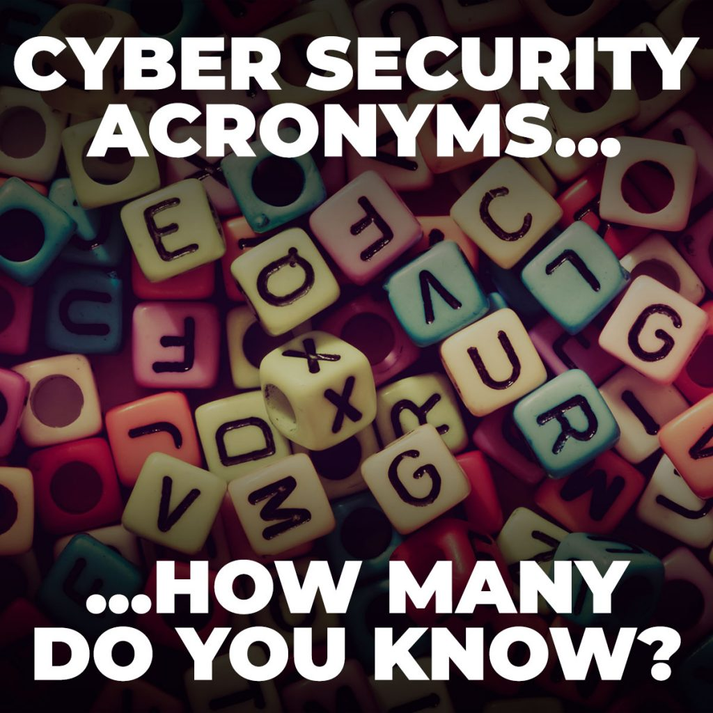 cyber security acronyms