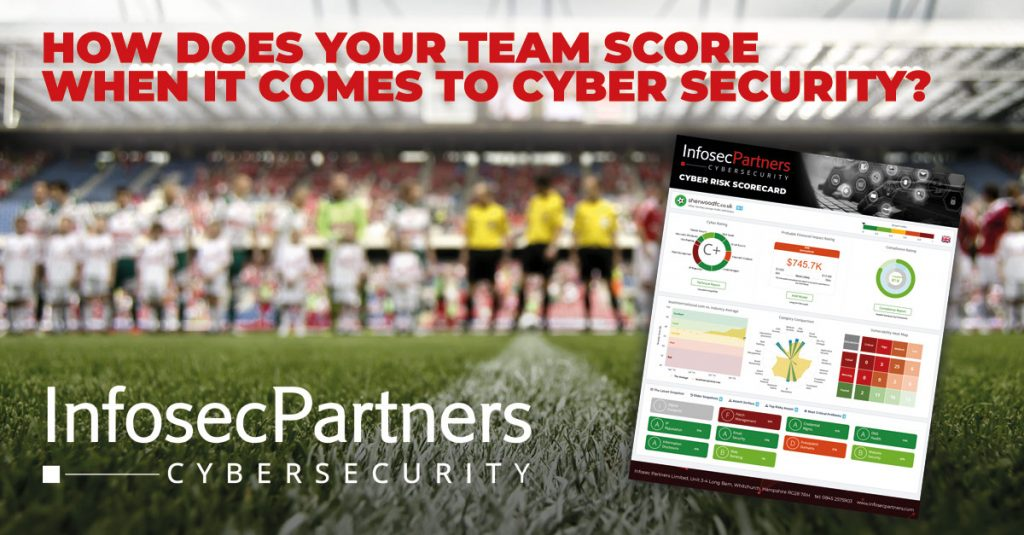 cyber security risk assessment football and sports clubs