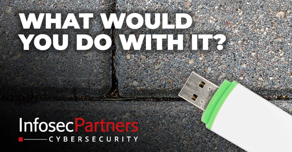 what would you do if you found a usb drive?