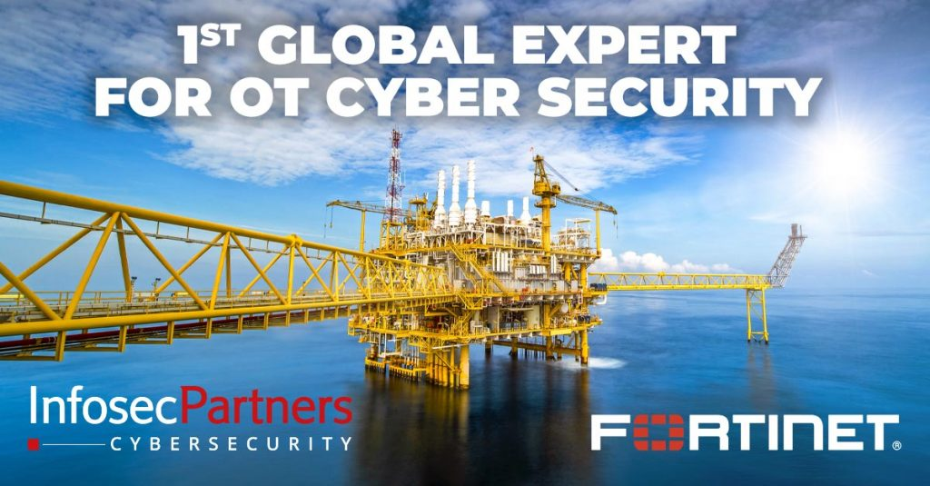 1st global Fortinet expert for OT cyber security